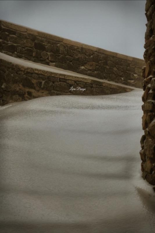 La Rocca e la Galaverna....ghiaccio sulla neve110 - Larabraga19 - Montefiore Conca (RN)