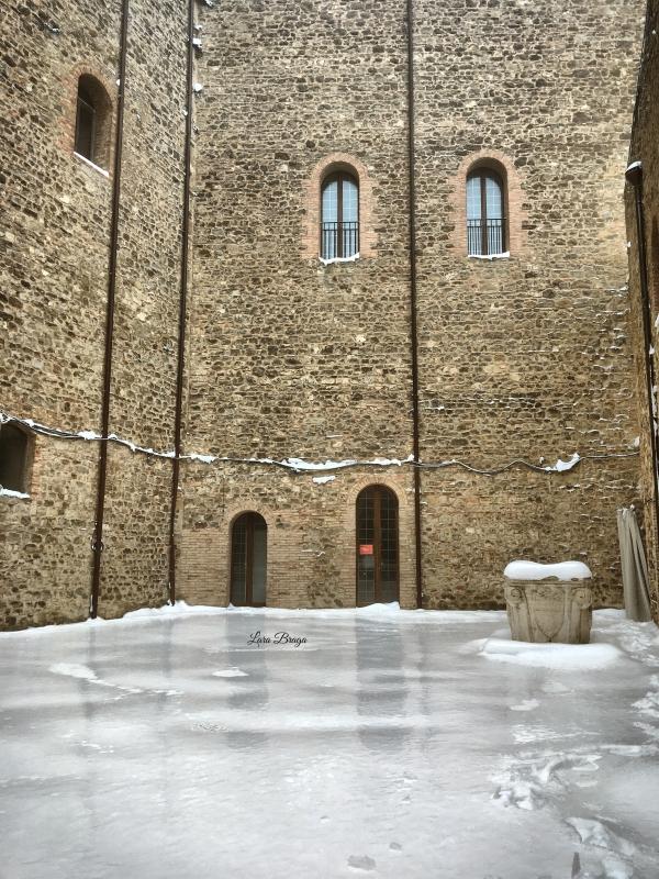 La Rocca e la Galaverna....ghiaccio sulla neve113 - Larabraga19 - Montefiore Conca (RN)