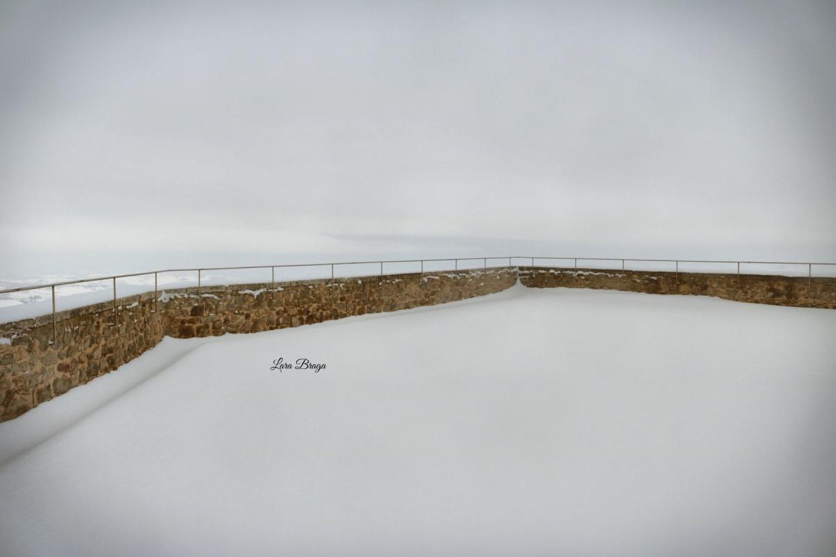 La Rocca e la neve2 - Larabraga19 - Montefiore Conca (RN)