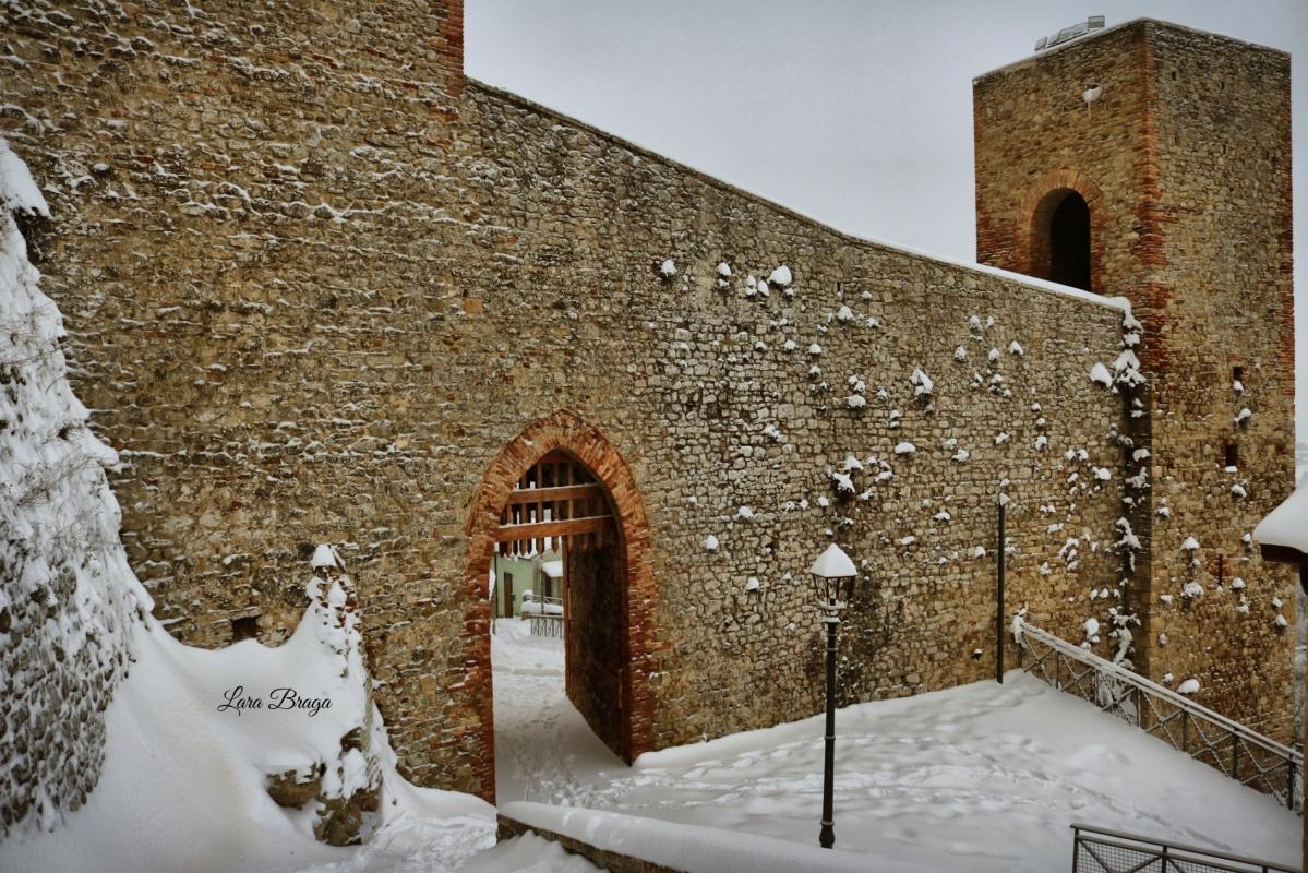 La Rocca e la magia della neve4 - Larabraga19 - Montefiore Conca (RN)