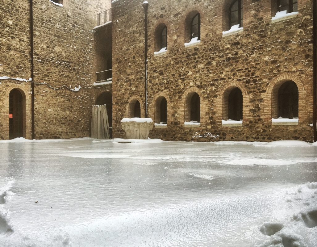 La Rocca e la Galaverna....ghiaccio sulla neve104 - Larabraga19 - Montefiore Conca (RN)