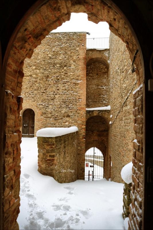 La Rocca e la neve41 - Larabraga19 - Montefiore Conca (RN)