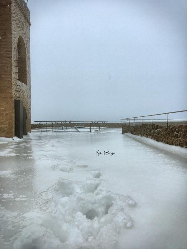 La Rocca e la Galaverna....ghiaccio sulla neve20 - Larabraga19 - Montefiore Conca (RN)