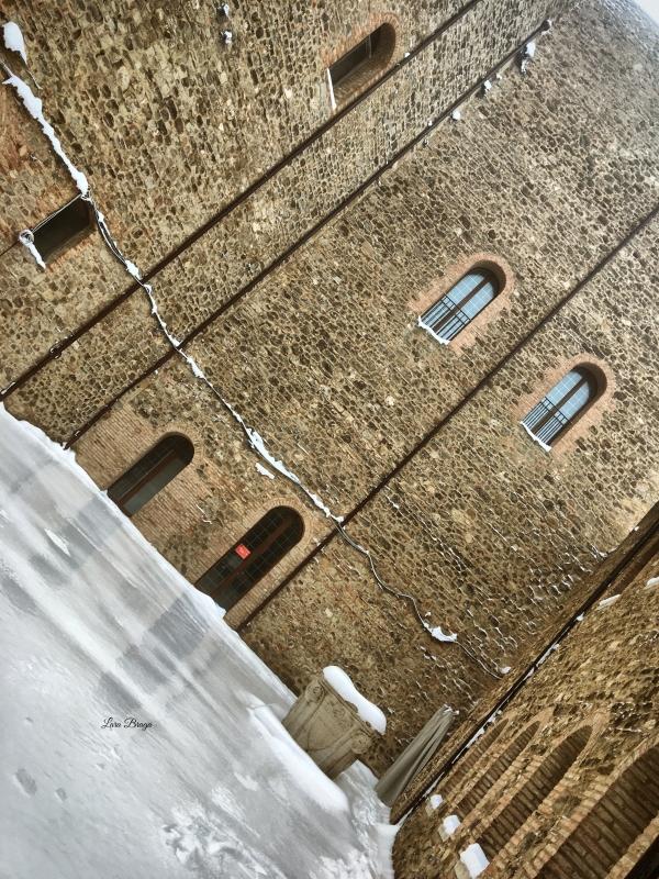 La Rocca e la Galaverna....ghiaccio sulla neve114 - Larabraga19 - Montefiore Conca (RN)