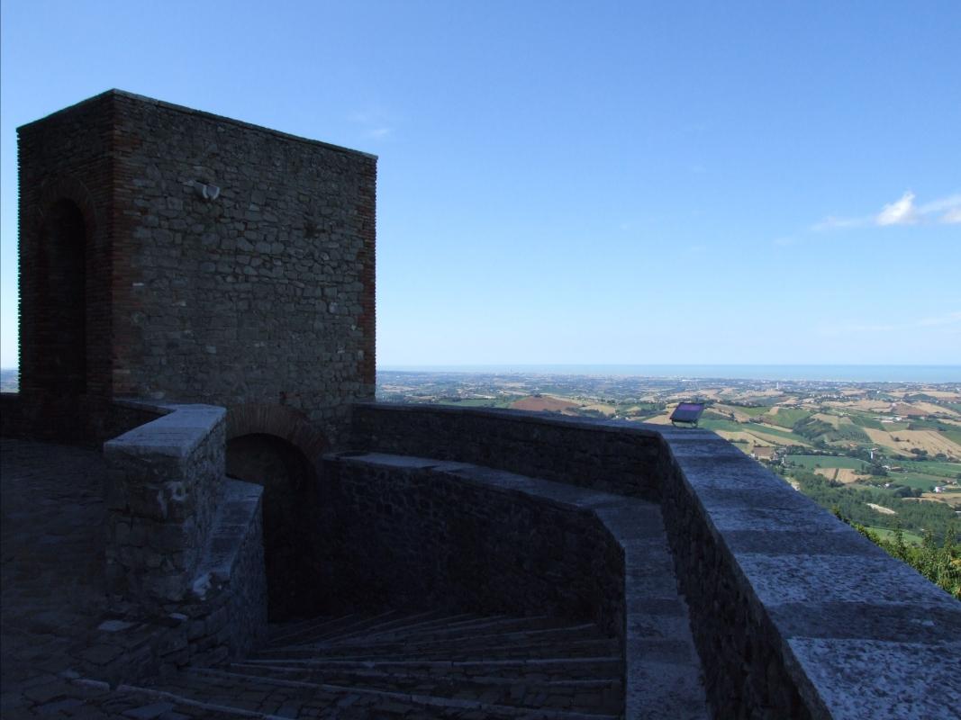 Rocca Malatestiana - Montefiore Conca 10 - Diego Baglieri - Montefiore Conca (RN)