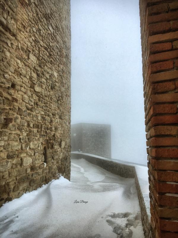 La Rocca e la Galaverna....ghiaccio sulla neve42 - Larabraga19 - Montefiore Conca (RN)