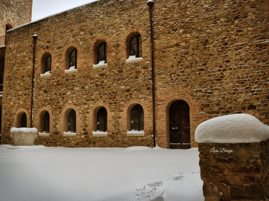 La Rocca e la neve40 - Larabraga19 - Montefiore Conca (RN)