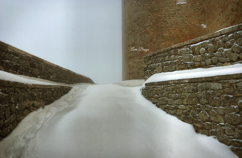 La Rocca e la Galaverna....ghiaccio sulla neve101 - Larabraga19 - Montefiore Conca (RN)