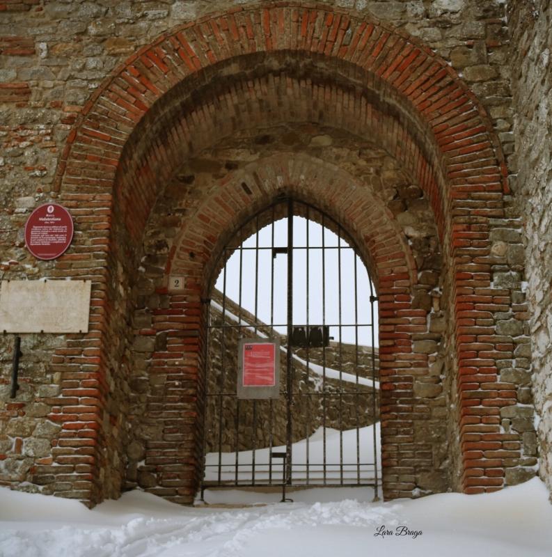 La Rocca e la magia della neve5 - Larabraga19 - Montefiore Conca (RN)