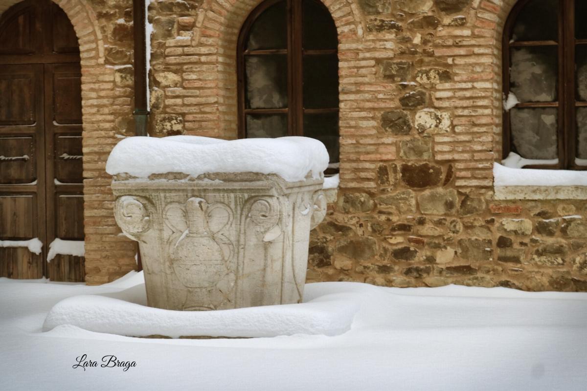 La Rocca e la magia della neve81 - Larabraga19 - Montefiore Conca (RN)
