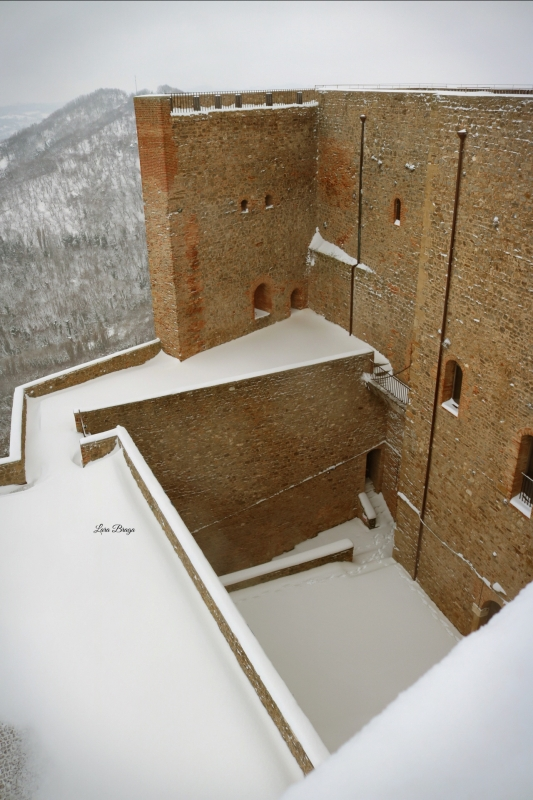 La Rocca e la neve51 - Larabraga19 - Montefiore Conca (RN)