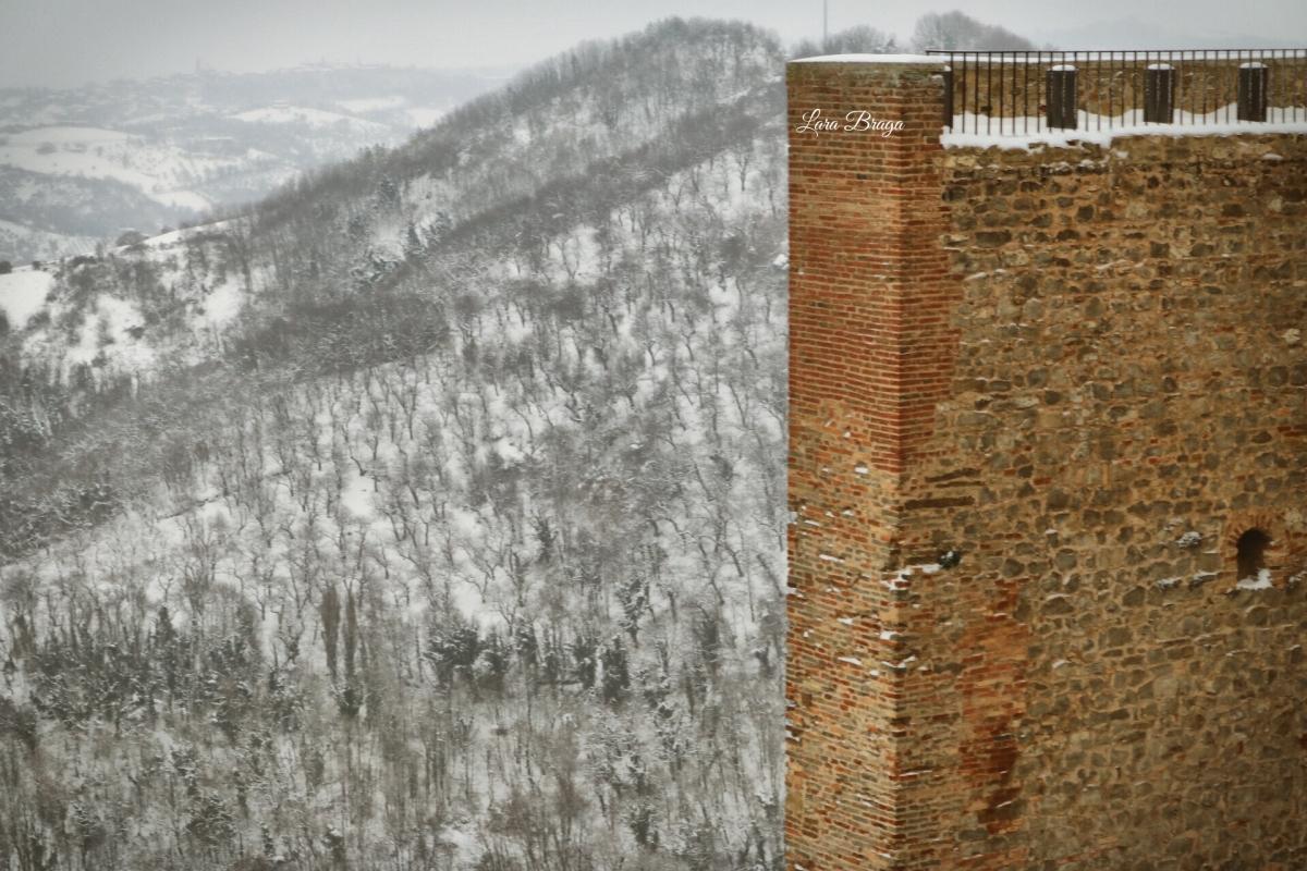 La Rocca e la neve9 - Larabraga19 - Montefiore Conca (RN)