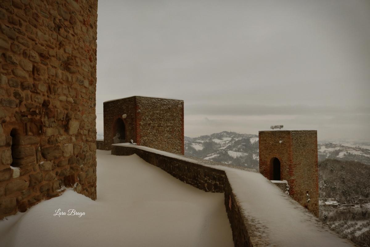 La Rocca e la magia della neve63 - Larabraga19 - Montefiore Conca (RN)