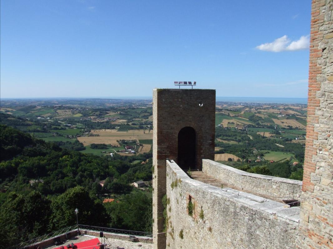 Rocca Malatestiana - Montefiore Conca 14 - Diego Baglieri - Montefiore Conca (RN)