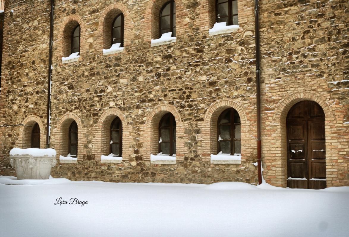 La Rocca e la magia della neve70 - Larabraga19 - Montefiore Conca (RN)