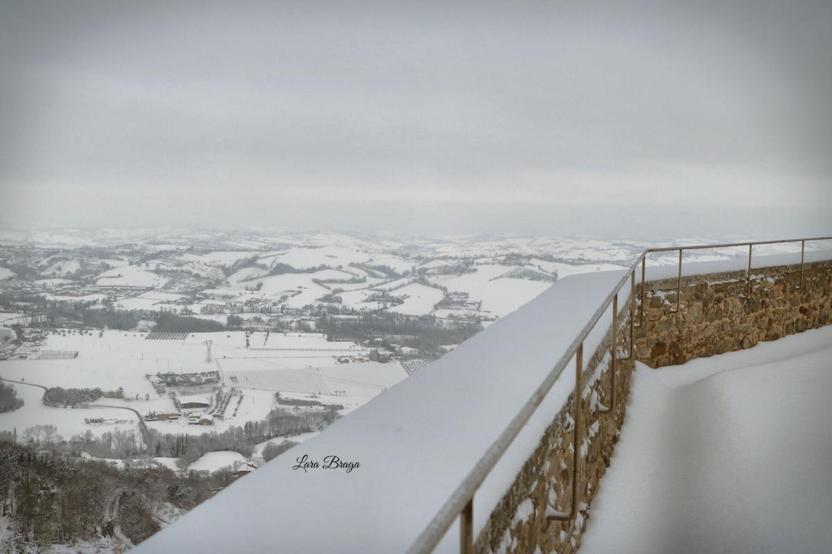 La Rocca e la neve61 - Larabraga19 - Montefiore Conca (RN)