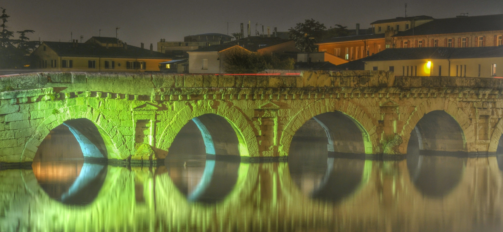 La magia del ponte di Tiberio - GianlucaMoretti - Rimini (RN)