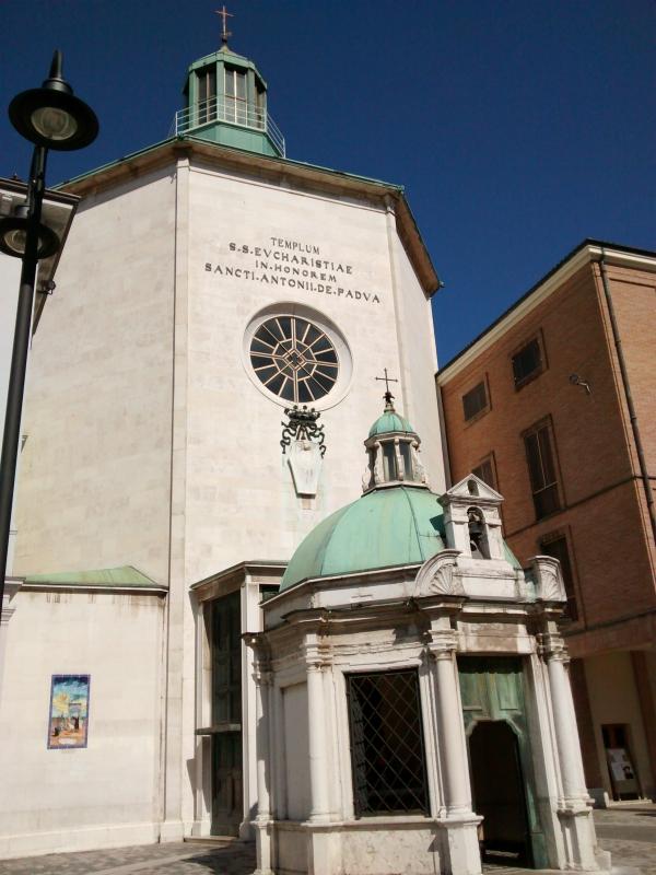 In honorem sancti antonii de Padua - Marmarygra - Rimini (RN)