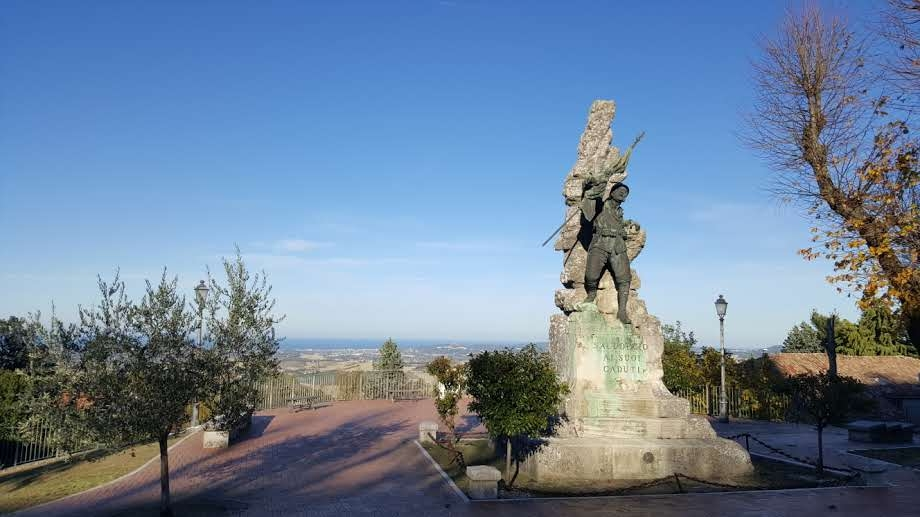 Monumento ai Caduti Saludecio - Marco Musmeci - Saludecio (RN)