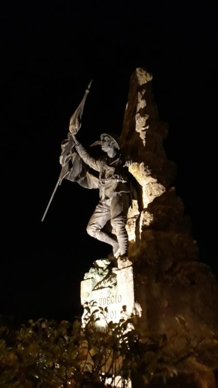 Monumento ai Caduti di Saludecio 02 - Marco Musmeci - Saludecio (RN)