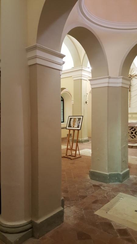 Museo di Saludecio e del Beato Amato. Esposizione Rivoluzione. Un'opera grafica di Mimmo Paladino 01 - Marco Musmeci - Saludecio (RN)