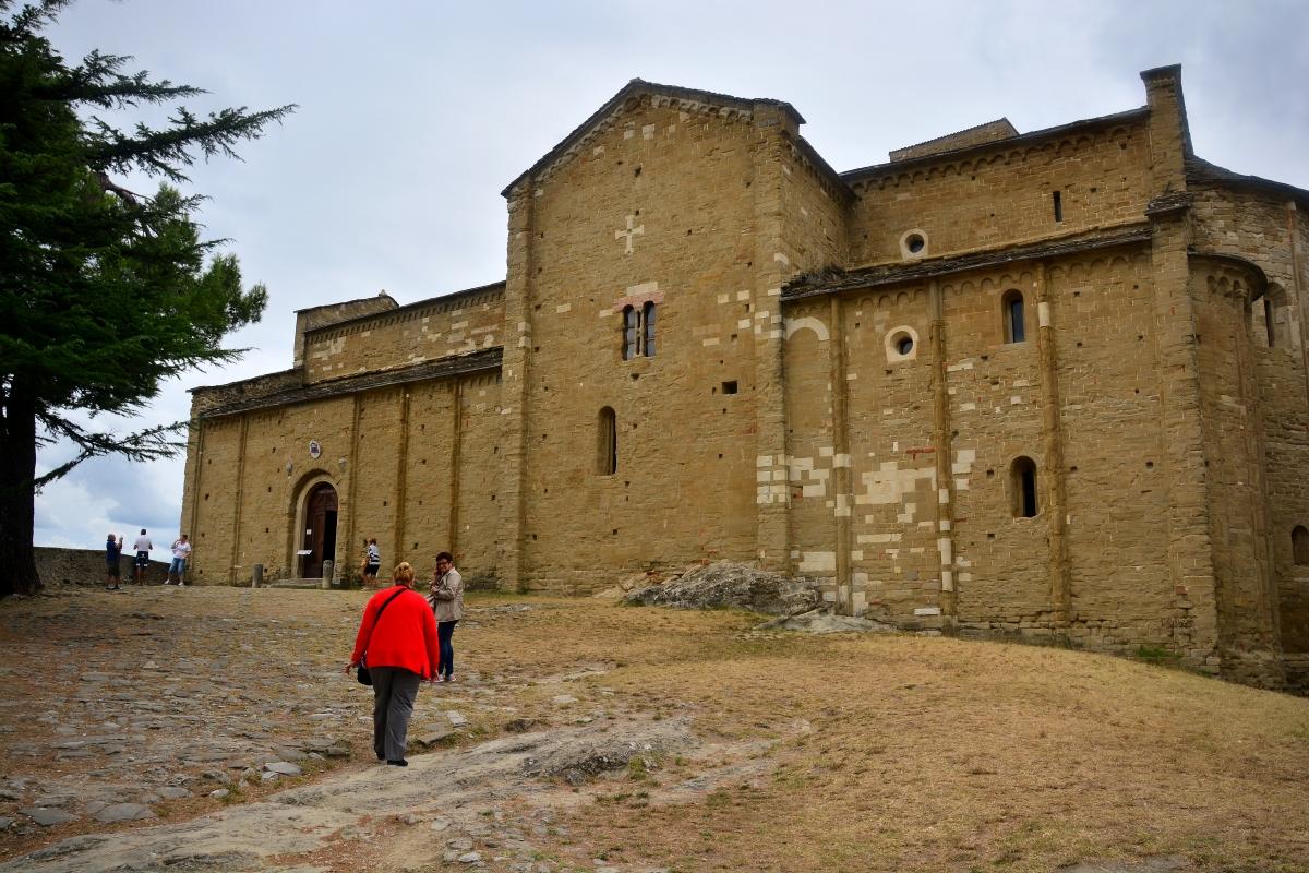 San Leo Chiesa della Madonna di Loreto - Sibilla Fanciulli - San Leo (RN)