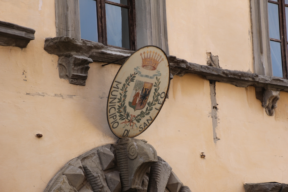 San Leo, palazzo Montefeltro-Della Rovere (02) - Gianni Careddu - San Leo (RN)