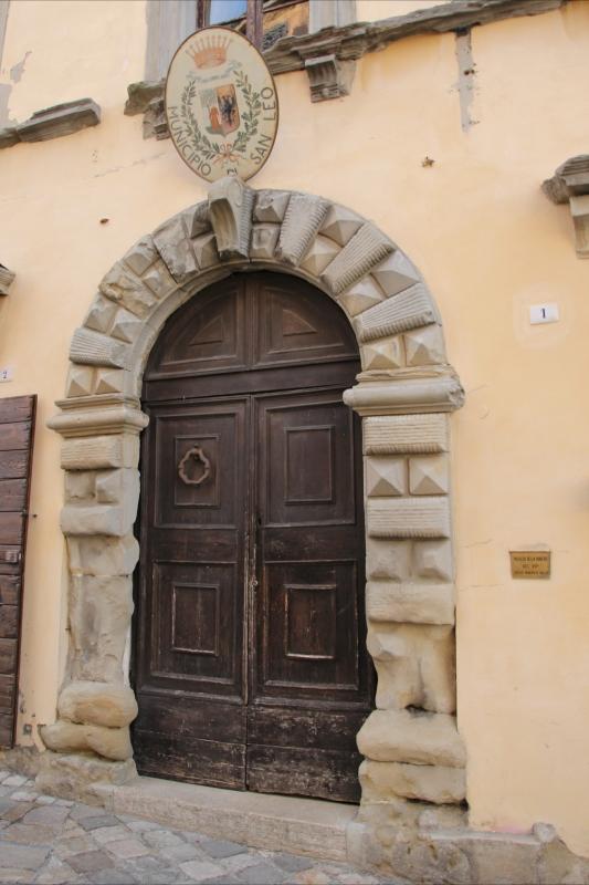 San Leo, palazzo Montefeltro-Della Rovere (04) - Gianni Careddu - San Leo (RN)