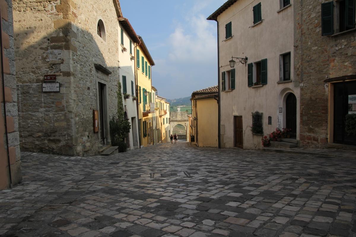 San Leo, porta di Sopra (03) - Gianni Careddu - San Leo (RN)