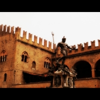 Fontana del Nettuno don Palazzo Re enzo - Albertoc - Bologna (BO)