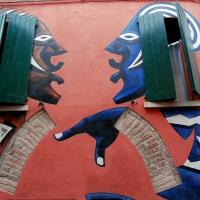 Red and blue - Irenefinessi - Dozza (BO)
