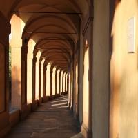 Luci ed ombre nel portico di San Luca - Francesca Caldarola - Bologna (BO)
