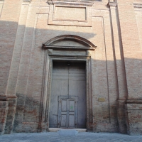 Basilica di Santa Maria in Regola e campanile (portone) - Maurolattuga - Imola (BO)