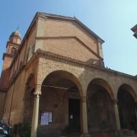 Chiesa di Santa Maria dei Servi (lato facciata) - Maurolattuga - Imola (BO)
