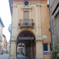 Farmacia dell'Ospedale della Scaletta (lato insegna2) - Maurolattuga - Imola (BO)