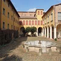 Palazzo Tozzoni (cortile) - Maurolattuga - Imola (BO)
