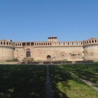 Rocca Sforzesca (intera facciata) - Maurolattuga - Imola (BO)
