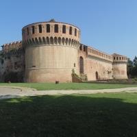 Rocca Sforzesca (vista laterale) - Maurolattuga - Imola (BO)