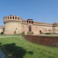 Rocca Sforzesca (vista intera) - Maurolattuga - Imola (BO)