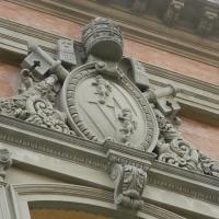 Particolare della facciata della cattedrale di San Cassiano - Riccardo.Rigo - Imola (BO)