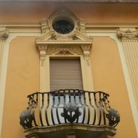 Particolare della facciata della Farmacia dell'Ospedale della Scaletta - Riccardo.Rigo - Imola (BO)