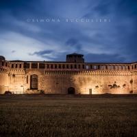 La Rocca durante l'ora blu - Simona Buccolieri - Imola (BO)