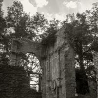 Resti della chiesa di Casaglia al tramonto - Ilaria Di Cocco - Marzabotto (BO)