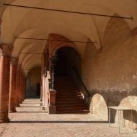 Bentivoglio, Castello, scalinata cortile interno - Cinzia Malaguti - Bentivoglio (BO)