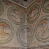 Bentivoglio, Castello, decorazioni con stemma dei Bentivoglio - Cinzia Malaguti - Bentivoglio (BO)