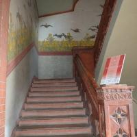 Bentivoglio, Palazzo Rosso, scalinata e decorazioni - Cinzia Malaguti - Bentivoglio (BO)