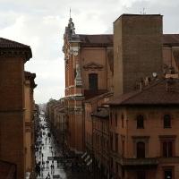 Bologna. Cattedrale di San Pietro dalla Galleria Vidoniana - Raffacossa - Bologna (BO)
