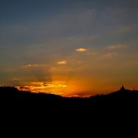 Tramonto su Bologna (dalla terrazza di San Petronio) - Angelo nacchio - Bologna (BO)