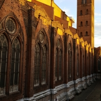 Bologna. Basilica San Petronio. Via de' Pignattari - Raffacossa - Bologna (BO)