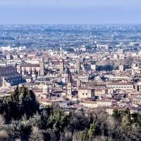 Basilica di San Petronio vista dai colli Bolognesi - Vanni Lazzari - Bologna (BO)